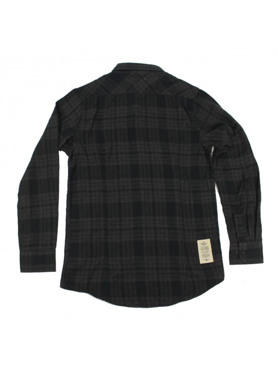 Black Checked Shirt