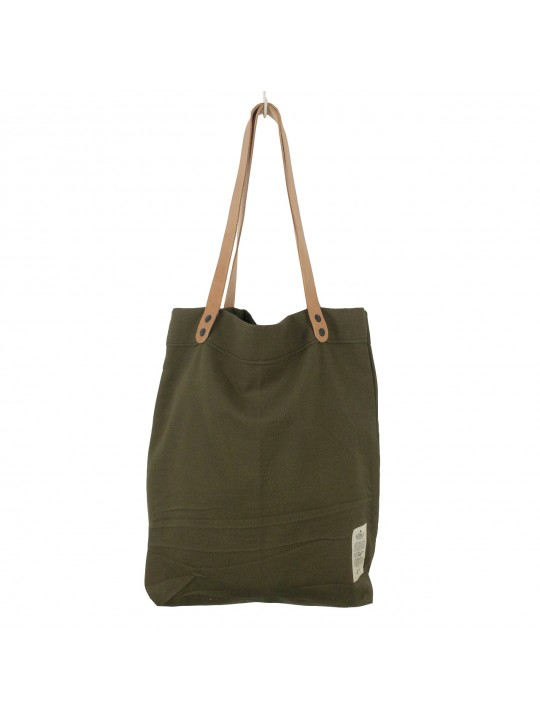 Khaki Canvas Bag