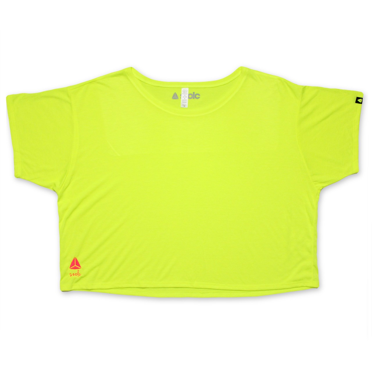 Fluor Yellow Embroidered Tshirt