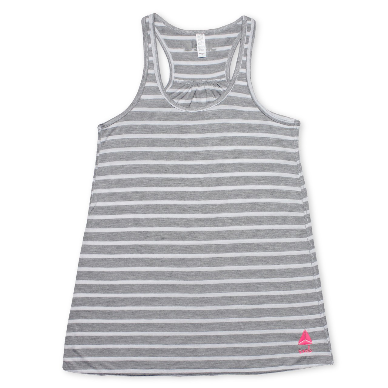 White Stripes Tank Top