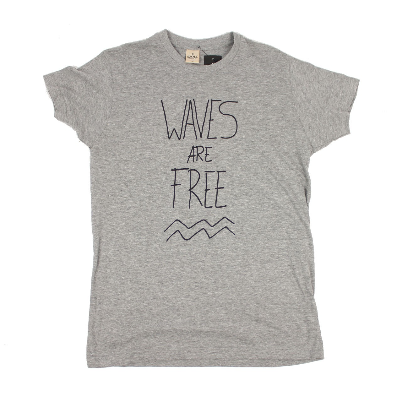 Waves Are Free Tshirt