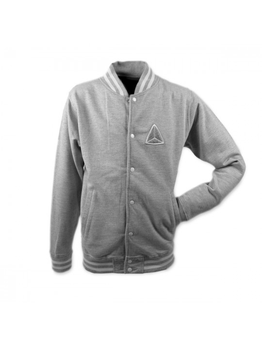 Grey College Jacket